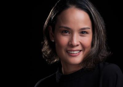 Lyda De Dios Aguinaldo Headshot on Black