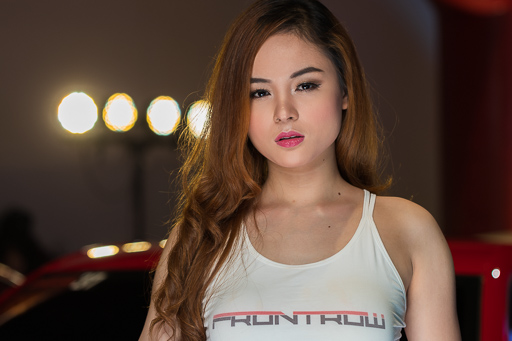 Shantal Belmonte Philippine Autocon 2019 Event Portrait